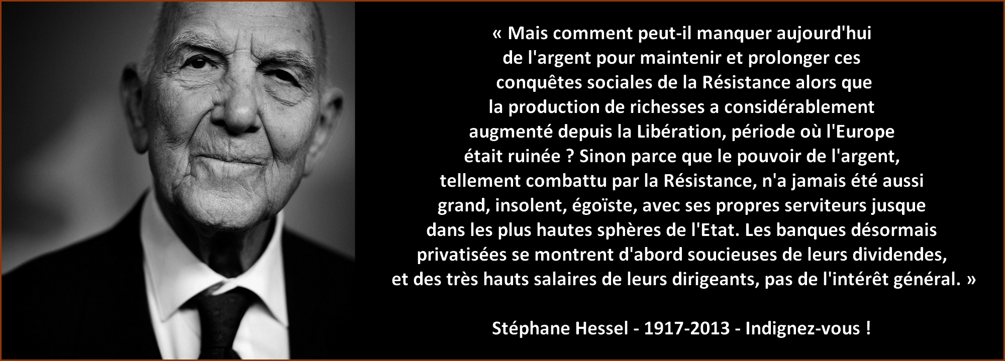 Stéphane Hessel - citation